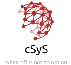 cSyS Manufacturers Representative
